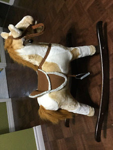 Rocking Horse with moving mouth and sound