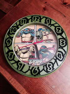 Teenage Mutant Ninja Turtle Clock