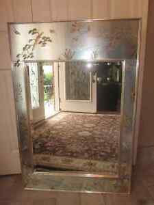 Exquisite Vintage La Barge Chinoiserie Reverse Hand Paint Mirror Cambridge Kitchener Area image 5