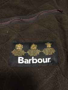 Barbour Quilted Jacket - Mens L/XL