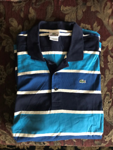 LACOSTE POLOS - ASSORTED COLOURS SIZE 9