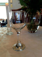 140 Tulip Shaped Wine Glasses