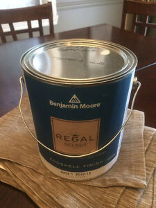 Benjamin Moore Regal Grey Owl paint - 4 gallons