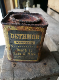 Antique/Vintage Tins