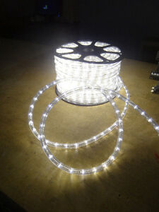 150 ft (45 m) spool of Warm White LED Rope Light