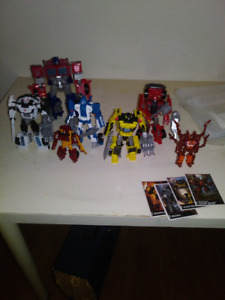 Transformers Combiner Wars + Power of the primes + Titans Return