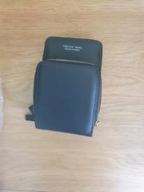 Side bag for cardholder