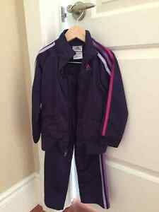 Girls Adidas Track Suits - Size 4