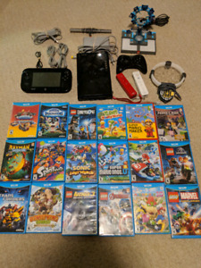 GREAT Deal- Wii U System, Accessories and TONS of Games