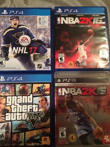 GAME PACK! 4 PS4 GAMES FOR $100 OR BUY SEPARATE
