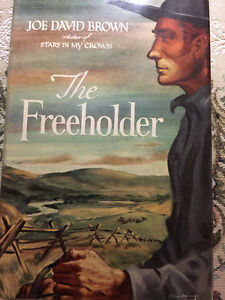 The Freeholder by Joe David Brown, Hardcover 1949 FIRST ED.