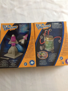 "Build yourself ""Moon Rocket"" and Motorized Eco Robot"" brand new"