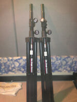 Tripod stand for audio cabs or lighting