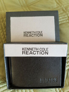 Kenneth Cole Mens Wallet Never Used new IN Box Black