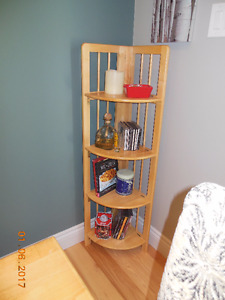 Small corner shelf