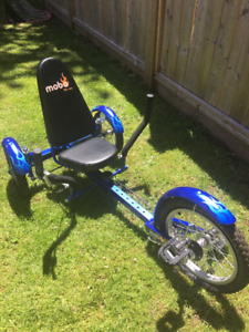 Mobo Triton-Three-wheeled Cruiser-16 inch Blue-Youth