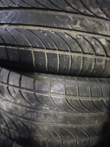215 / 55 R 16 only 2 Tires all season