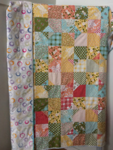 quilted lap blankets, $50 each