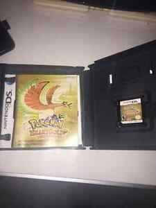 Pokemon HeartGold game with Case