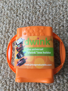 New with tags orange Drink juice box holder