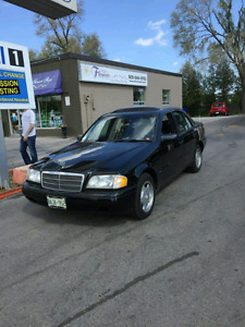 Mercedes-Benz  C280 sport lightly used - Call 6478778844