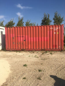 20' insulated shipping container