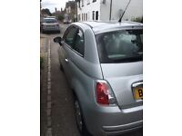 Fiat 500 pop silver low mileage car