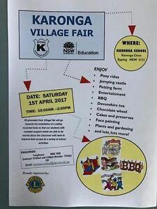 Karonga Village Fair Turramurra Ku-ring-gai Area Preview