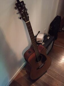 Yamaha guitar and amp