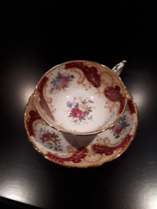 """Paragon Cup and Saucer """" Cheltenham """""""