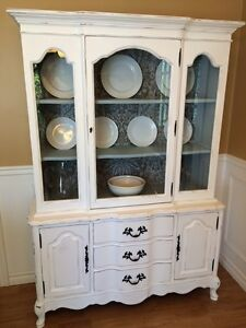 """Vintage Hutch ~ Redone in """"Cottage Style"""""""