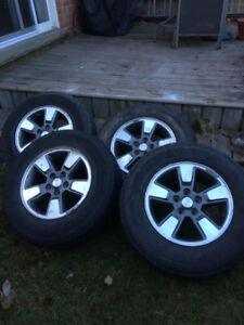 Wild Spirit Sport Tires on Jeep Rims: size 225/75R16