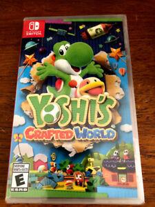 Yoshi's Crafted World - SEALED copy (Nintendo Switch)