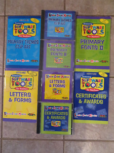 Fonts;Clip Art; Letters & Forms; Certificates & Awards Software