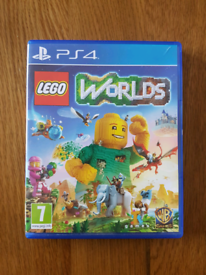 PS4 Game - Lego Worlds