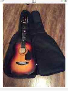 Kay guitar with case