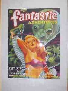 PULP FICTION SCI FI FANTASTIC ADVENTURES