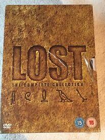 Lost DVD boxset the complete collection season 1-6