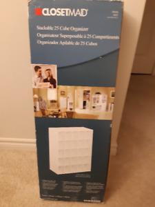 Closet Maid 25 Cube Organizer - NEW