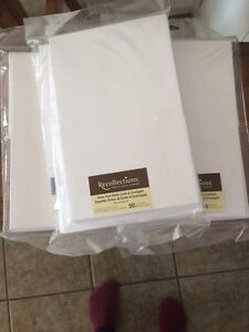 3 Sets of White Blank Cards and Envelopes Kawartha Lakes Peterborough Area image 1