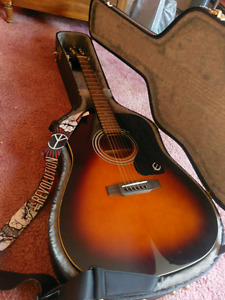 2 Guitars!   Acoustic & Electric