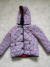 Red white and blue paisley anorak