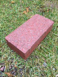 Red Paver Bricks (enough to cover 500 square feet)