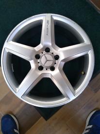 """1 x mercedes benz alloy wheel 18"""" anc"""