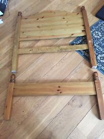 Single bed pine available now