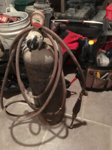 Acetylene Torch and tank (full)