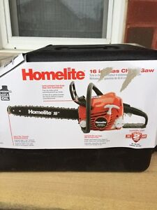 Homelite chainsaw