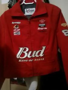 Ladies NASCAR Dale Earnhardt Jr denim jacket