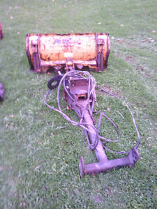 HLA 2000 Front Mount Tractor Blade