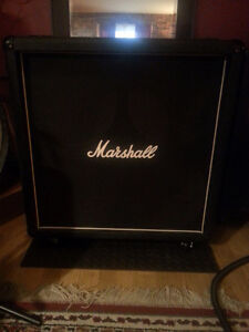 "Cab Marshall 4x12"" Unloaded Made in Enlgland"